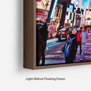 LED signs Broadway Theaters Floating Frame Canvas