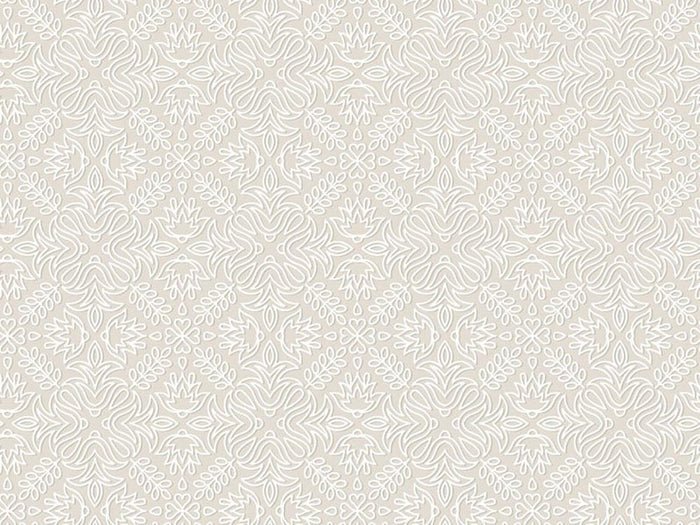 Lace vintage floral vector Wall Mural Wallpaper