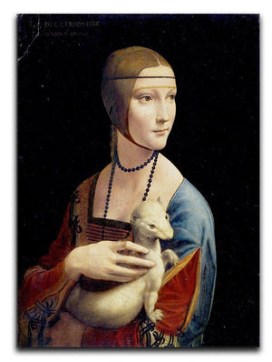 Lady with an Ermine by Da Vinci Canvas Print & Poster  - Canvas Art Rocks - 1