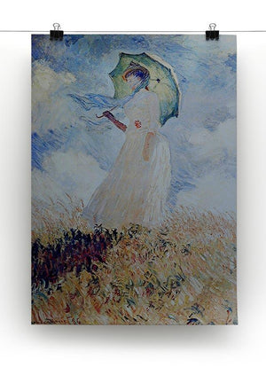 Lady with umbrella Canvas Print & Poster - Canvas Art Rocks - 2