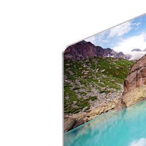 Lake mountains HD Metal Print