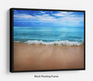 Landscape Floating Frame Canvas - Canvas Art Rocks - 1