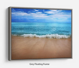 Landscape Floating Frame Canvas - Canvas Art Rocks - 3