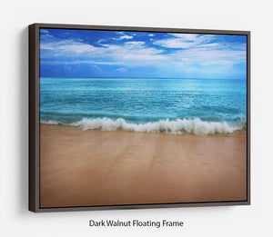 Landscape Floating Frame Canvas - Canvas Art Rocks - 5