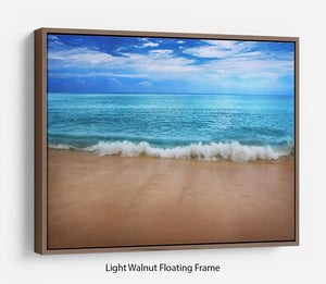 Landscape Floating Frame Canvas - Canvas Art Rocks 7