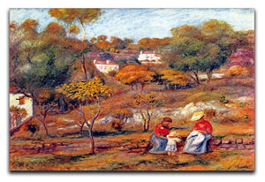 Landscape at Cagnes by Renoir Canvas Print or Poster  - Canvas Art Rocks - 1