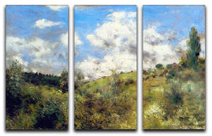 Landscape by Renoir 3 Split Panel Canvas Print - Canvas Art Rocks - 1