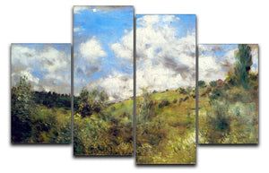 Landscape by Renoir 4 Split Panel Canvas  - Canvas Art Rocks - 1