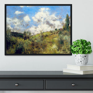 Landscape by Renoir Framed Print - Canvas Art Rocks - 2