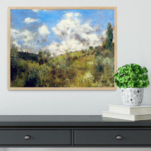 Landscape by Renoir Framed Print - Canvas Art Rocks - 4