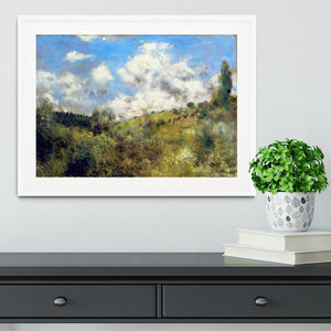 Landscape by Renoir Framed Print - Canvas Art Rocks - 5