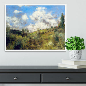Landscape by Renoir Framed Print - Canvas Art Rocks -6