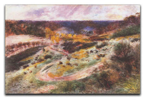 Landscape in Wargemont by Renoir Canvas Print or Poster  - Canvas Art Rocks - 1