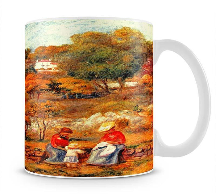 Landscape with Cagnes by Renoir Mug