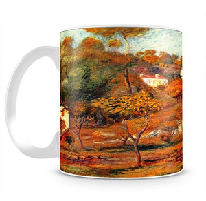 Landscape with Cagnes by Renoir Mug - Canvas Art Rocks - 2