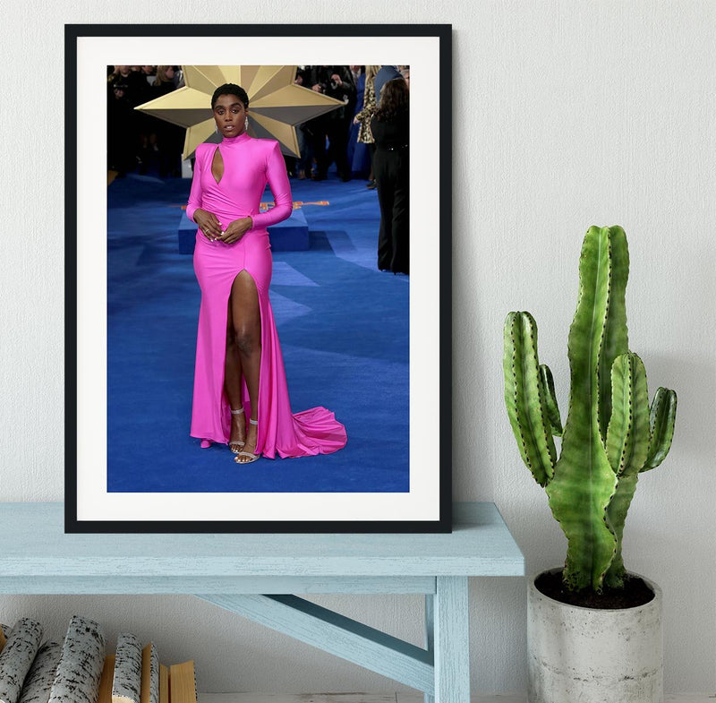 Lashana Lynch Framed Print - Canvas Art Rocks - 1