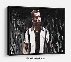 Laurie Cunningham Floating Frame Canvas
