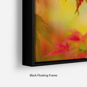 Leaf Patterns Floating Frame Canvas - Canvas Art Rocks - 2