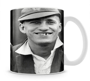 Len Hutton cricketer Mug - Canvas Art Rocks - 1
