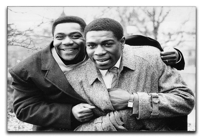 Lenny Henry and Frank Bruno Canvas Print or Poster