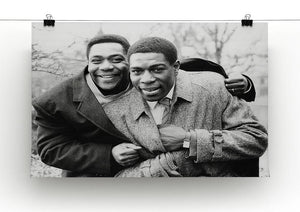 Lenny Henry and Frank Bruno Canvas Print or Poster - Canvas Art Rocks - 2