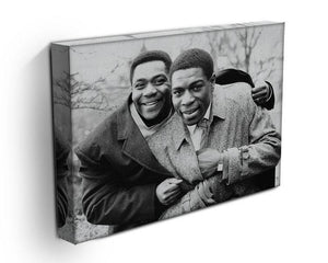 Lenny Henry and Frank Bruno Canvas Print or Poster - Canvas Art Rocks - 3