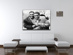 Lenny Henry and Frank Bruno Canvas Print or Poster - Canvas Art Rocks - 4