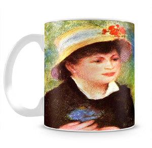 Les Canotiers by Renoir Mug - Canvas Art Rocks - 2