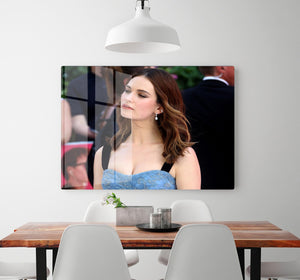 Lily James Baby Driver HD Metal Print