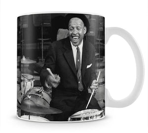 Lionel Hampton on the drums Mug - Canvas Art Rocks - 1