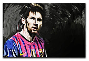 Lionel Messi Close Up Canvas Print or Poster  - Canvas Art Rocks - 1