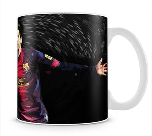 Lionel Messi Mug - Canvas Art Rocks - 1