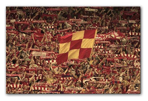 Liverpool Fans on the Kop Print - Canvas Art Rocks
