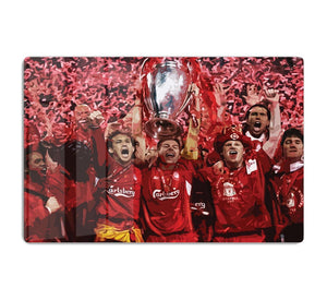 Liverpool Football Champions League In Istanbul HD Metal Print