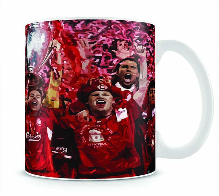Liverpool Football Champions League In Istanbul Mug