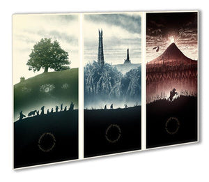Lord Of The Rings Story Outdoor Metal Print - Canvas Art Rocks - 1