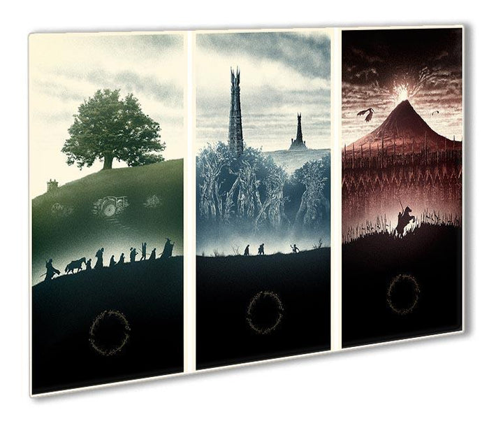 Lord Of The Rings Story Outdoor Metal Print