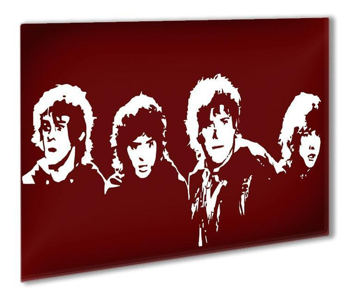 Lord of the Rings Pop Art Outdoor Metal Print