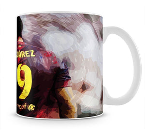 Luis Suarez Barcelona Mug - Canvas Art Rocks - 1