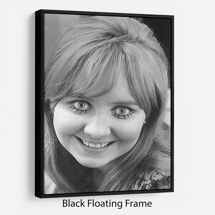 Lulu in 1968 Floating Frame Canvas