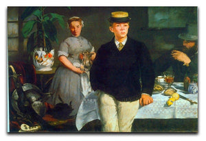 Luncheon by Manet Canvas Print or Poster  - Canvas Art Rocks - 1
