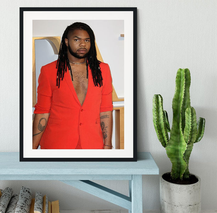 MNEK at A Star is Born UK Premiere Framed Print