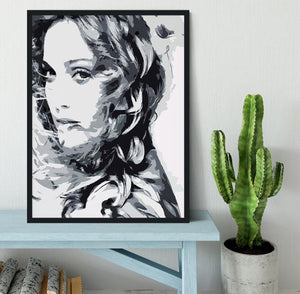 Madonna Pop Art Framed Print - Canvas Art Rocks - 2