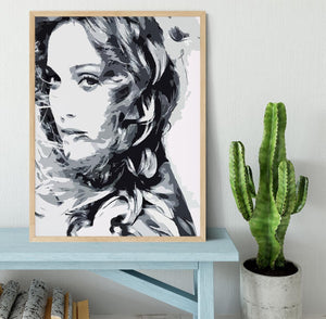 Madonna Pop Art Framed Print - Canvas Art Rocks - 4