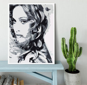 Madonna Pop Art Framed Print - Canvas Art Rocks -6