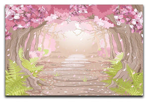 Magic spring forest Canvas Print or Poster  - Canvas Art Rocks - 1