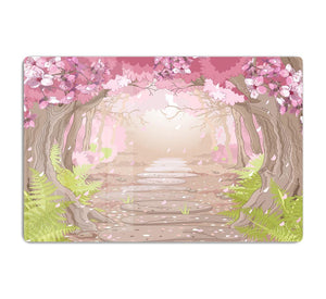 Magic spring forest HD Metal Print