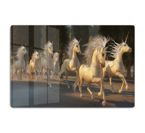 Magical Unicorn Forest HD Metal Print