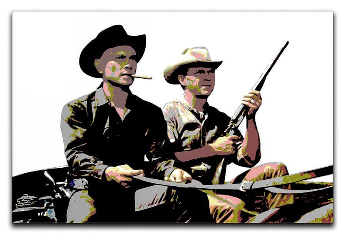 Magnificent Seven Canvas Print or Poster