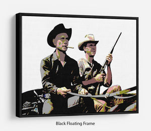 Magnificent Seven Floating Frame Canvas